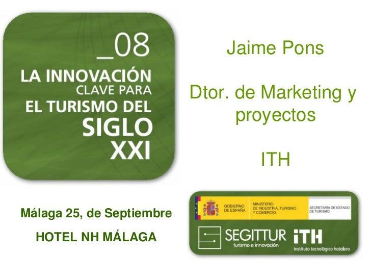 Jaime Pons                             Dtor. de Marketing y                                  proyectos                    ...