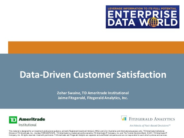 Jaime Fitzgerald on Data-Driven Customer Experience in Financial Services and Beyond