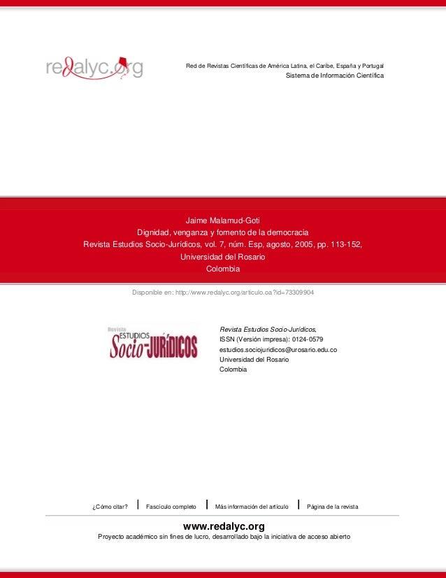 Disponible en: http://www.redalyc.org/articulo.oa?id=73309904 Red de Revistas Científicas de América Latina, el Caribe, Es...