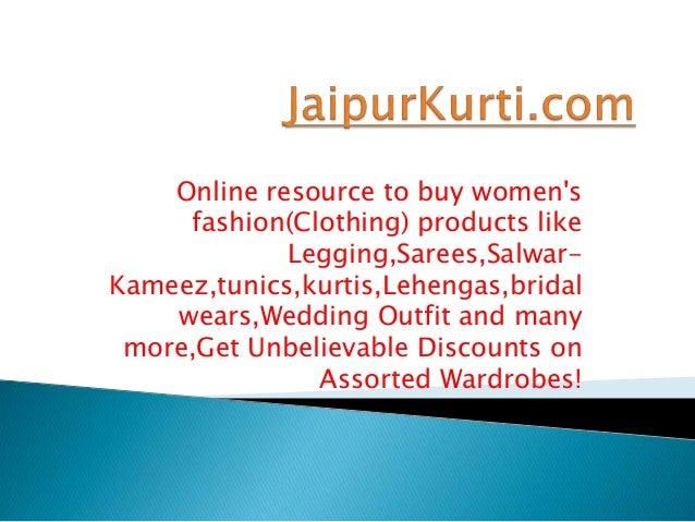 Jaipur kurti.ppt