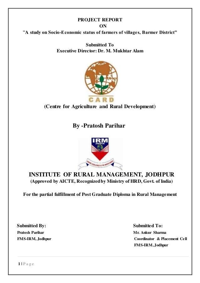 Research paper on socio economic status