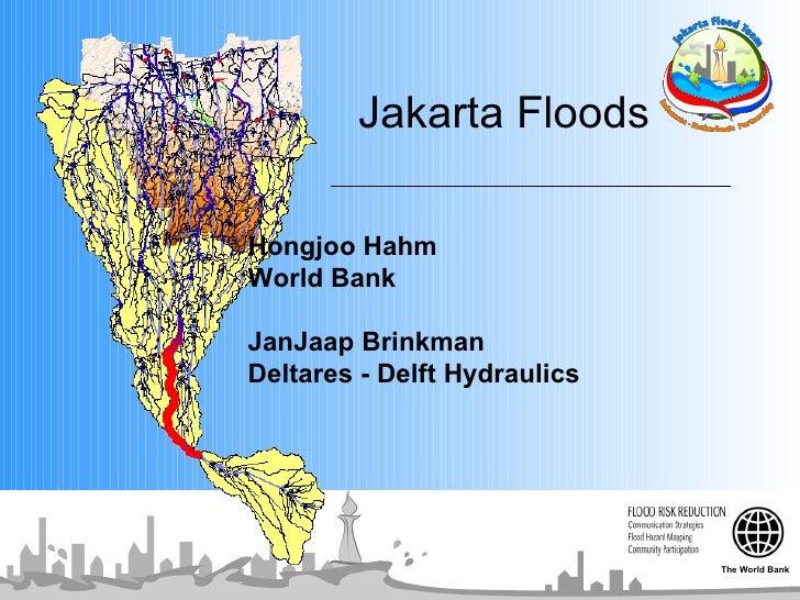 Jakarta Flood Donor Presentation