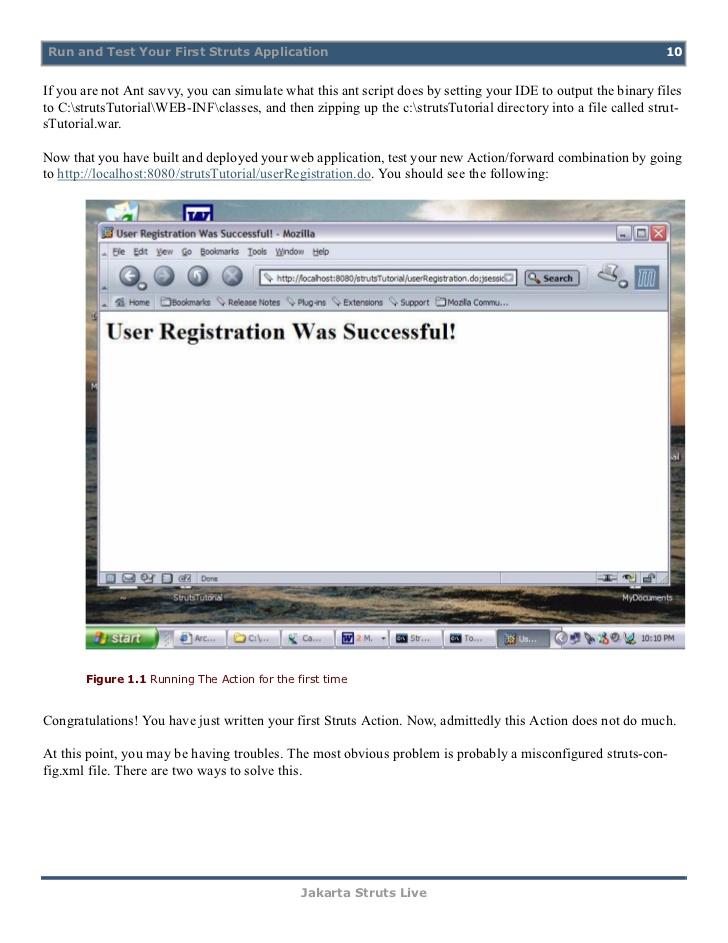 PDF of Struts Manual Validation - Coreservlets com