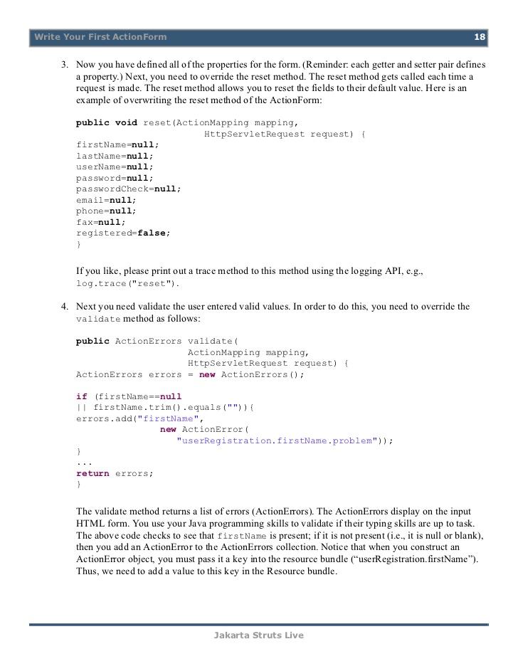Custom validator in JSF 2 0 - developer AM