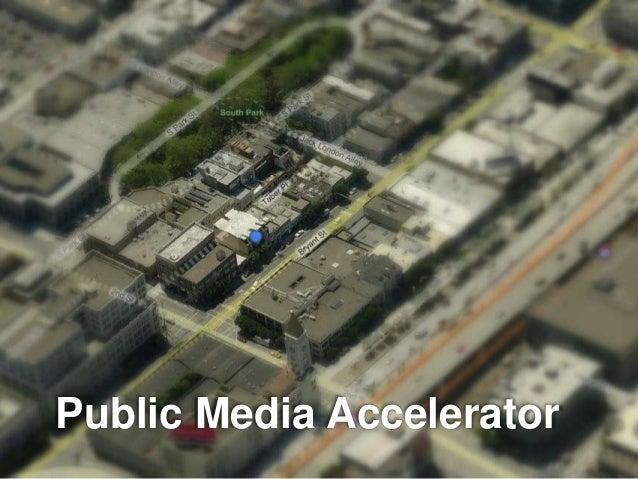 Public Media Accelerator