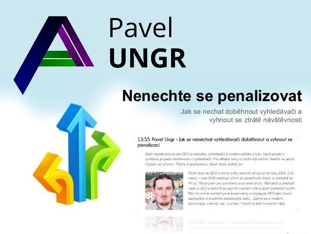 Jak nebýt penalizován (Affiliate konference 13.11.2013)