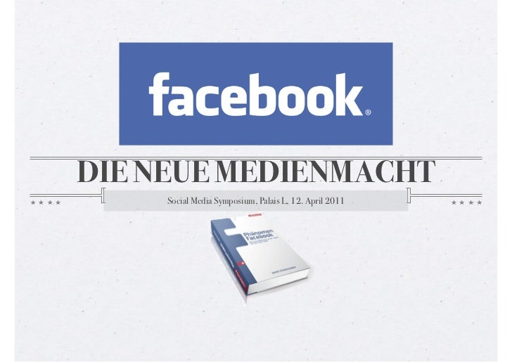DIE NEUE MEDIENMACHT     Social Media Symposium, Palais L, 12. April 2011