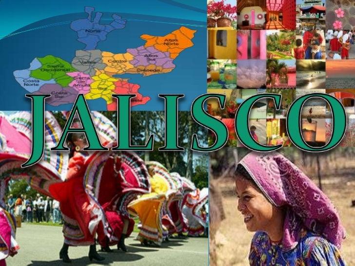 Jalisco es uno de los 31 estados que junto conel Distrito Federal conforman las 32 entidadesfederativas de México.Se encue...