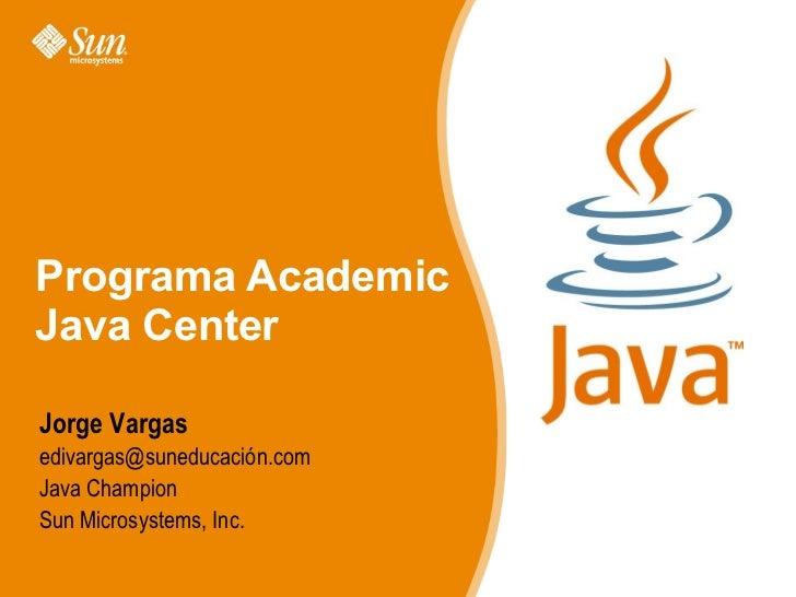 Jalisco Academic Java Centers