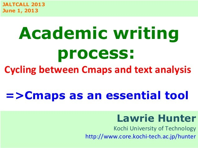 Cmap Tools as an essential  for teaching academic writing