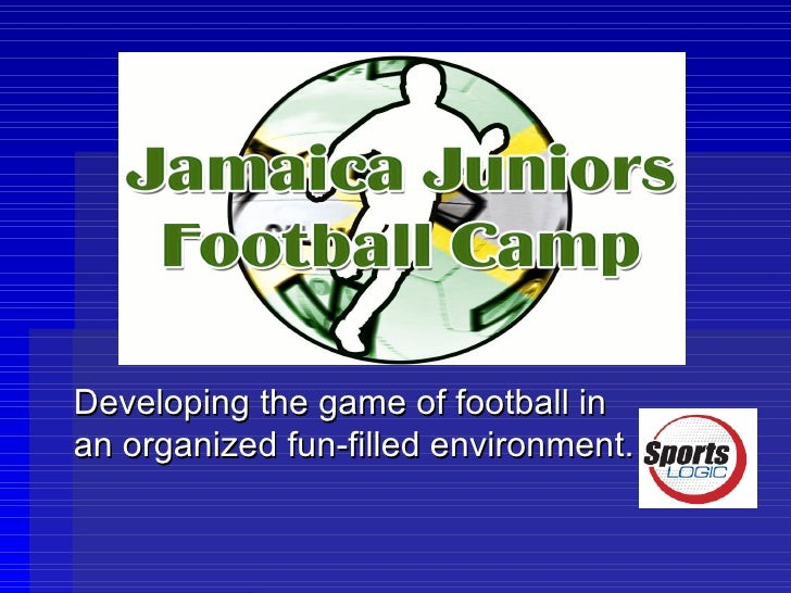 Developing the game of football in an organized fun-filled environment.