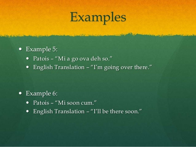 how to talk jamaican english