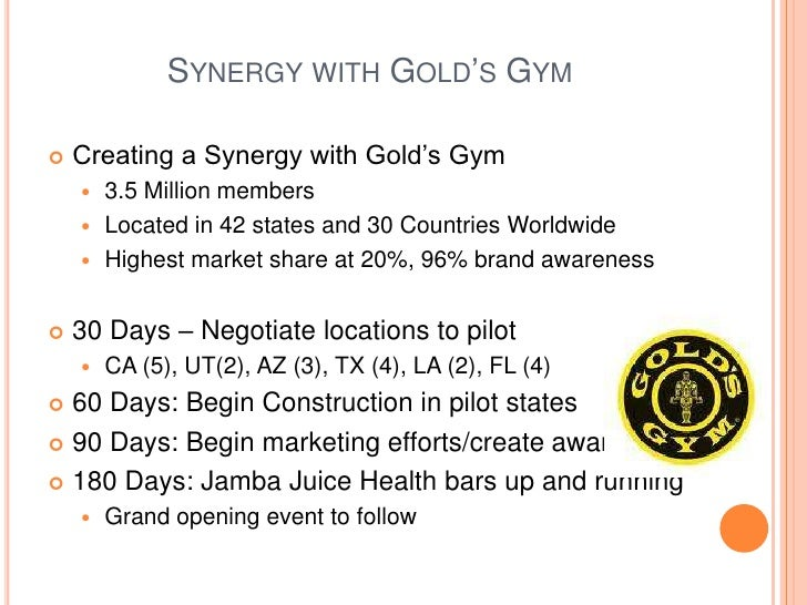 golds gym swot analysis Sample business plan fitness plus, inc swot analysis gold's gym coral gables adventure bootcamp.