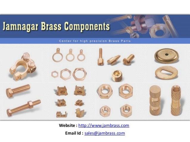 Jamnagar Brass Parts Brass Components Brass Connectors Neutral bars Terminals Screws Links moulding inserts