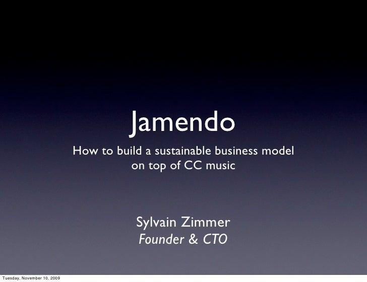 How to Open business seminar - Jamendo