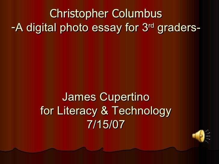 christopher essay Christopher mccandless aka alexander supertramp into the wild essays and papers and assignments.