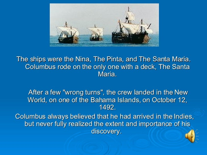 an essay on the pinta island Age of european exploration: document based question (dbq) the crew of the pinta picked to bear witness that he before all others took possession of that island for the king and queen the people of the island gathered together.