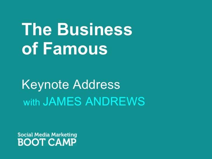 James Andrews Presentation