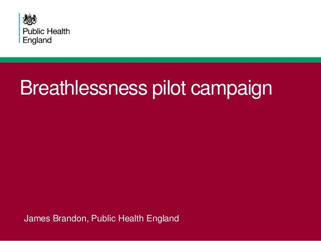 Public Health breathlessness and lung cancer update