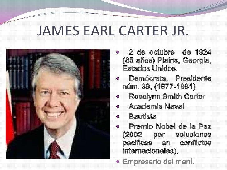 James Earl Carter Sr.