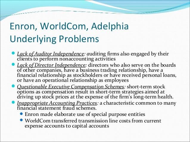 Worldcom stock options