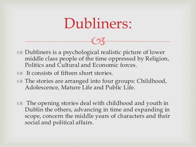 """dubliners an introspection in the stories This vintage classics edition of james joyce's groundbreaking story collection  has been authoritatively edited by scholars hans walter  he called dubliners a  """"chapter in the moral history of my country  for further reflection."""
