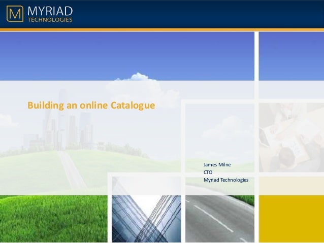 Building an online catalogue with SharePoint 2013