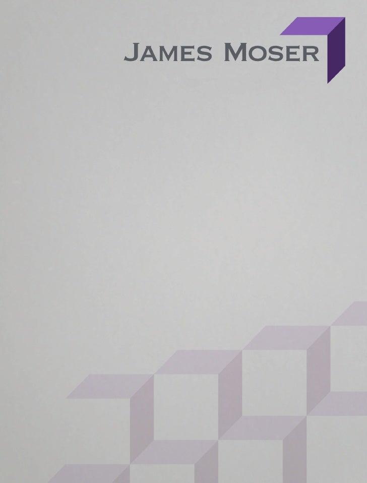 James Moser Design Portfolio Web