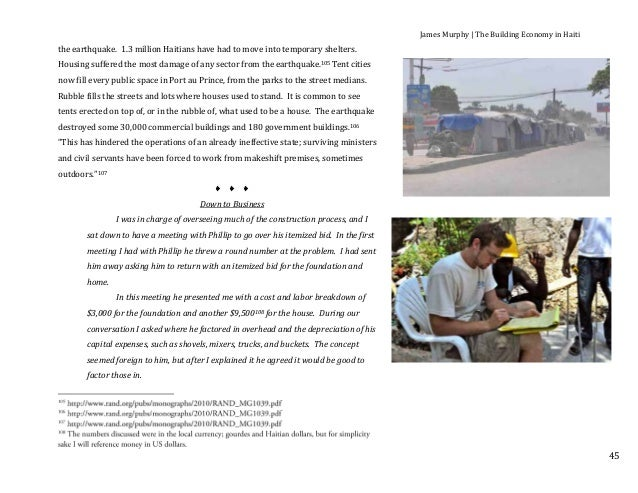 essays on poverty in haiti It is important for students to gain a deeper understanding of the history and the roots of the poverty in haiti  teaching about haiti  a short essay on haiti.
