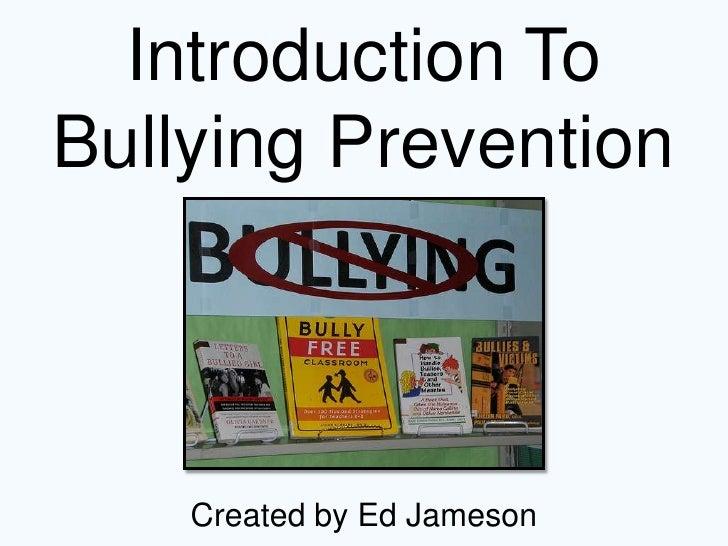 Jameson - Bullying Prevention