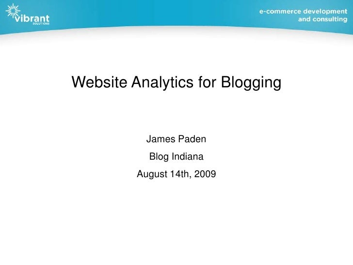 Advanced Google Analytics for Blogging (and more)