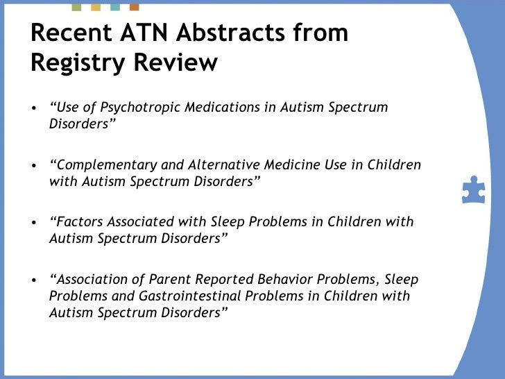 Research Papers On Autism