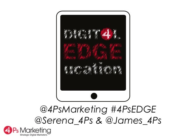 @4PsMarketing #4PsEDGE@Serena_4Ps & @James_4Ps