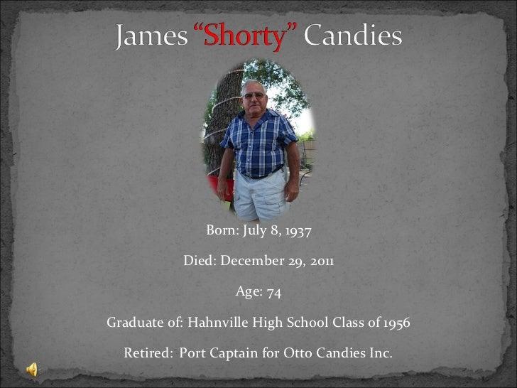 <ul><li>Born: July 8, 1937 </li></ul><ul><li>Died: December 29, 2011 </li></ul><ul><li>Age: 74 </li></ul><ul><li>Graduate ...