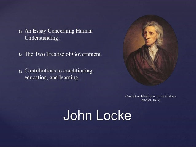 rene descartes and john locke