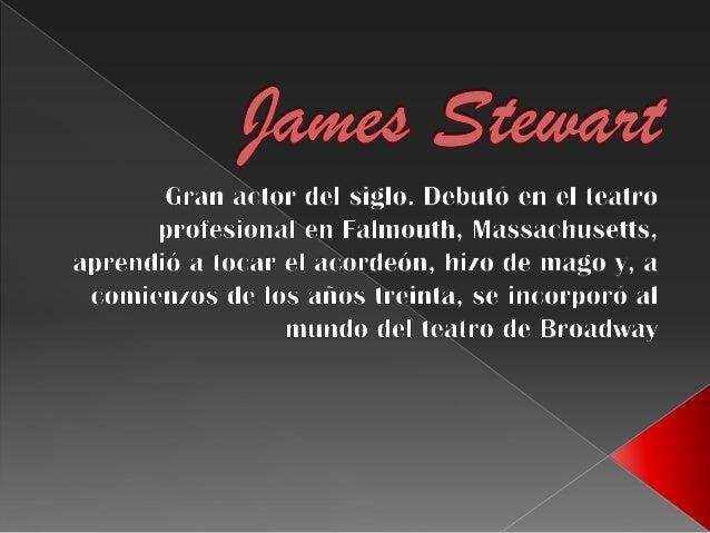 James stewart. roberto saller