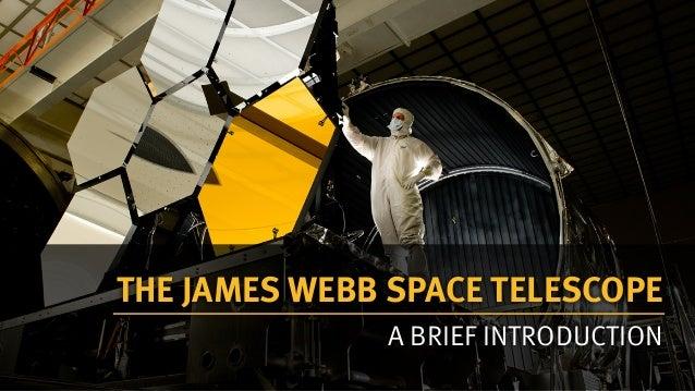 James Webb telescope introduction presentation