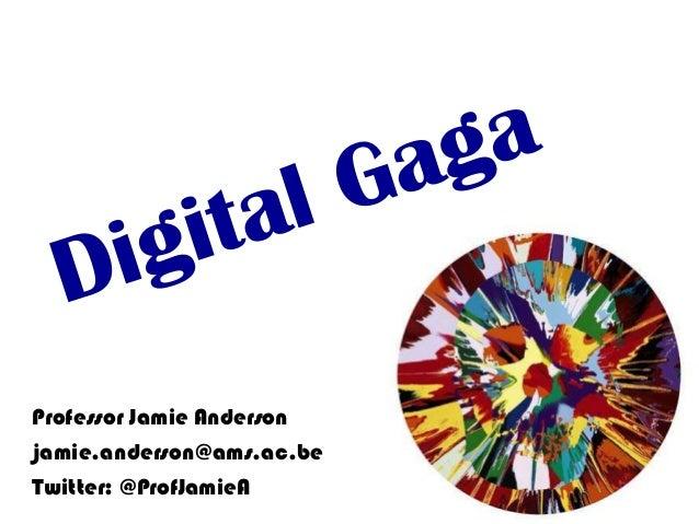 Digital Winners 2013: Jamie anderson afternoon_shared