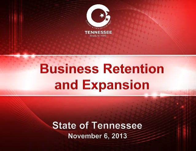 TN Business Retention & Expansion Course 2013 - Experts Panel - Jamie Stitt Presentation