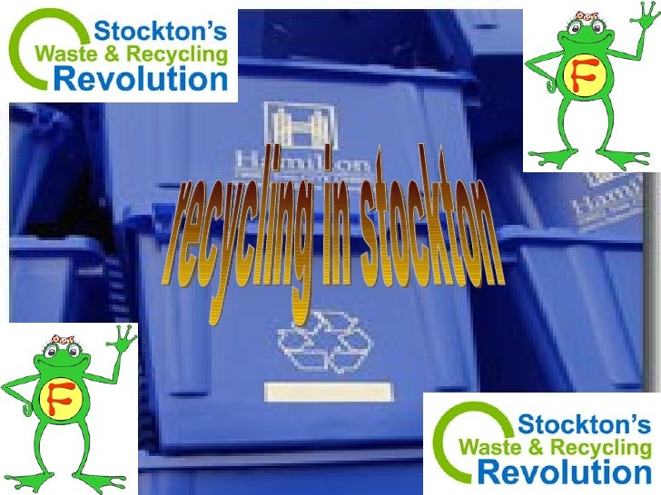 recycling in stockton