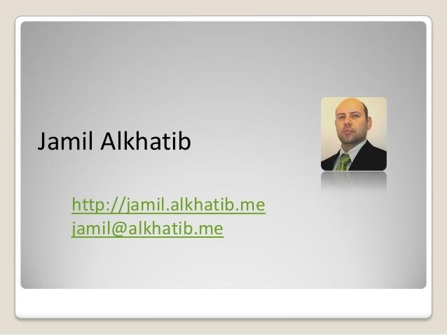 Jamil Alkhatib Profile