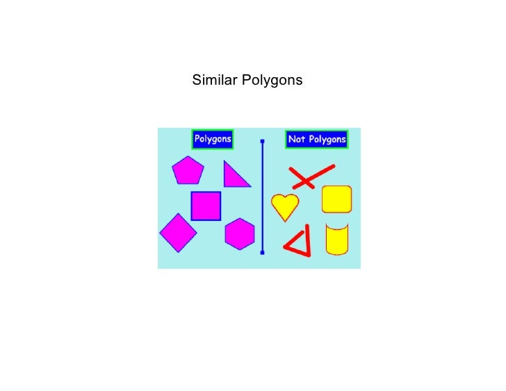 Jan. 5 Similar Polygons