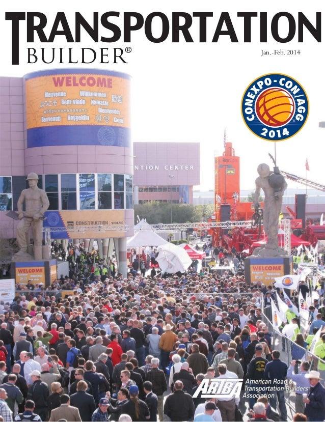 Jan.-Feb. 2014 TransportationBuilder 1 builder® Jan.-Feb. 2014