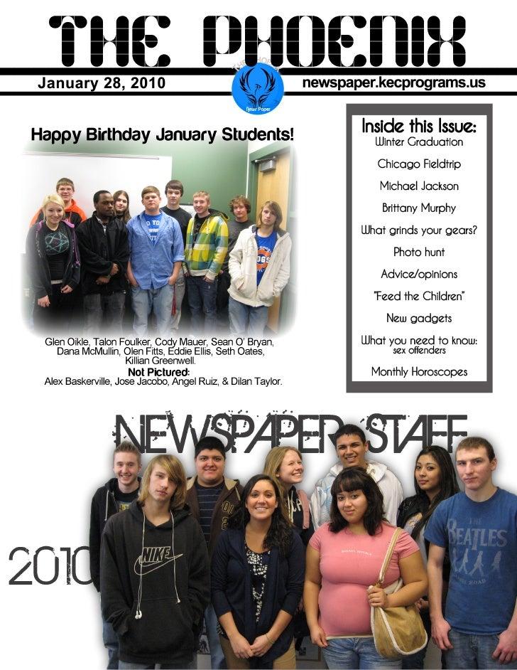 Newspaper January 2010