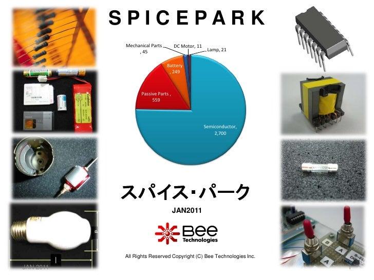 SPICE PARK (SPICE Model All List), JAN2011
