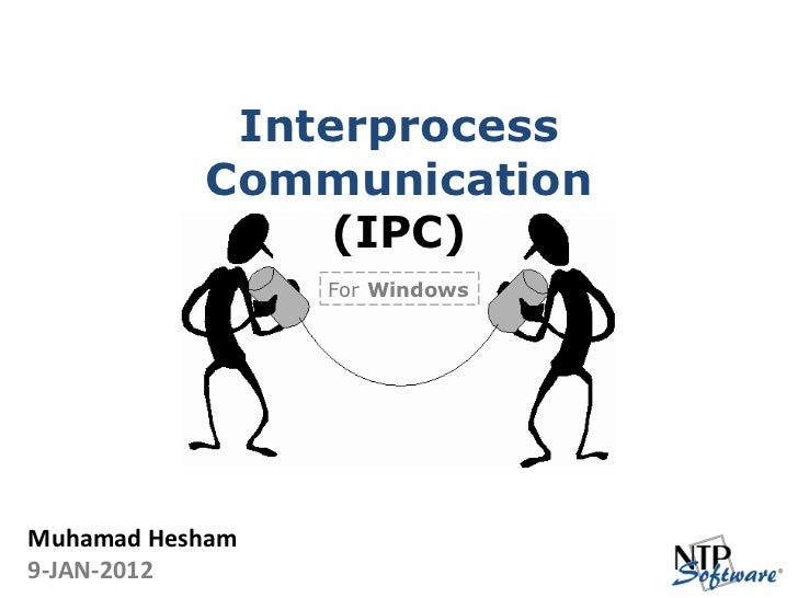 NTP Software Jan 2012 Monthly Meeting IPC Presentation
