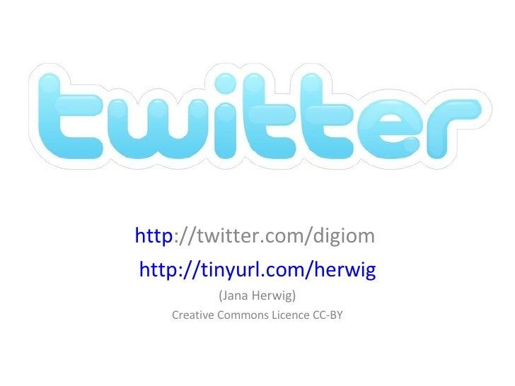 Was ist Twitter? (Version Digitalks, 21.4.2009)