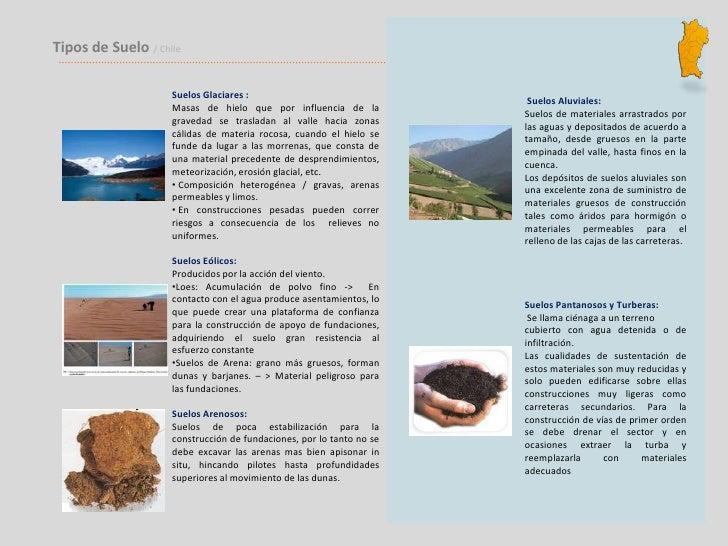 Analisis suelo iv region - Tipos de suelos ...