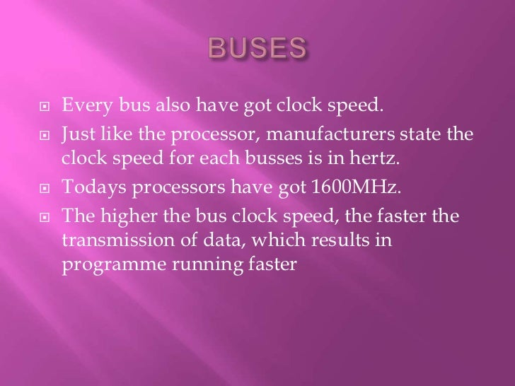 Computer Expansion Bus Bus And an Expansion Bus