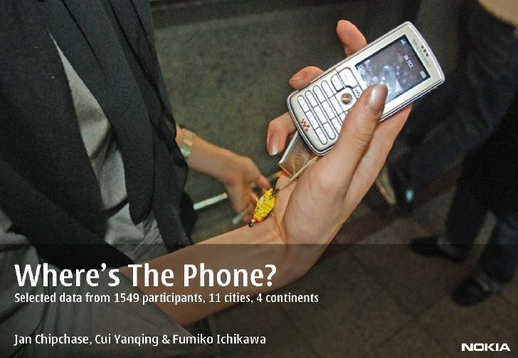 Where's The Phone? A Global Study on Carrying Behaviours